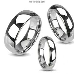 Shining finished tungsten carbine ring #mspiercing #piercings