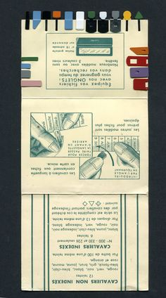 Paperclip sample card