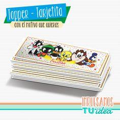 Baby Looney Tunes - Sticker rectangular para imprimir