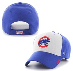 best value 7a770 9bdac Chicago Cubs Beta MVP Adjustable Cap by  47 Brand