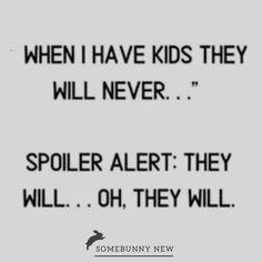 Never say never... #parenting #weloveit #kids #somebunnynew Never Say Never, Parenting, Sayings, News, Instagram, Lyrics, Childcare, Quotations, Idioms