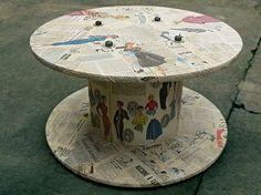 10+Ideas+Más+para+Reciclar+Carretes+de+Madera,+Ideas+para+Fabricar+Muebles+Reciclados1.jpg (450×337)