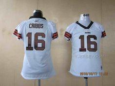 http://www.yjersey.com/browns-16-cribbs-white-women-jerseys.html BROWNS 16 CRIBBS WHITE WOMEN JERSEYS Only 34.00€ , Free Shipping!