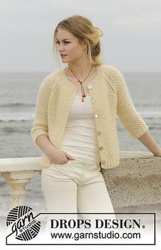 Le Conquet Free Knitting Pattern for a Raglan Jacket, Easy seed stitch jacket to knit for women. Le Conquet Free Knitting Pattern for a Raglan Jacket, Easy seed stitch jacket to knit for women. Knit Cardigan Pattern, Crochet Jacket, Sweater Knitting Patterns, Jacket Pattern, Crochet Cardigan, Knit Or Crochet, Knitting Stitches, Knit Patterns, Knitting Stitch Patterns