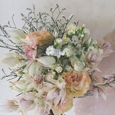 #RaQue #flowers #bouquet #セルリア #ブーケ