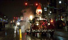A snowplow clears Tejon Street Saturday, Dec. 7, 2013, before the Festival of Lights Parade in downtown #ColoradoSprings