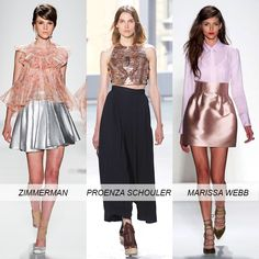 Top 10 NYFW Spring 2014 Trends: Metallic #OnlineShoes