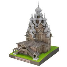 Russia Church of the Transfiguration - Europe - Architecture - Paper Craft - Canon CREATIVE PARK