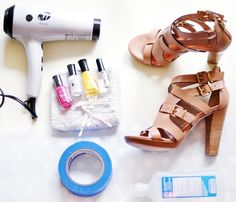 Neon Shoes DIY & Painting Leather « THE YESSTYLIST – Asian Fashion Blog – brought to you by YesStyle.com
