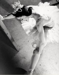 Prima ballerina Margot Fonteyn by Norman Parkinson. Circa 1950.