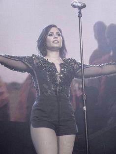 Demi Lovato at the Margaret Court Arena, Melbourne, Australia - April 24th #DemiWorldTour #33