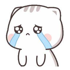 Cutie Cat-Chan four Cute Anime Cat, Cute Bunny Cartoon, Cute Kawaii Animals, Cute Cartoon Pictures, Cute Love Pictures, Cute Love Cartoons, Cute Cat Gif, Cute Love Memes, Cute Love Gif