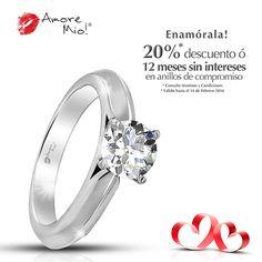 Anillo de Oro Blanco 14kt WG1430128 Diamante Redondo 0.39 quilates. Color- G, Claridad VVS2 Laboratorio - GIA-DGC, SKU Diamante: 73594, Precio: $29,884.9 pesos M.N -20% = $23,907.92 pesos M.N. *Consulte términos y condiciones.