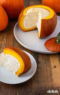 Cheesecake Stuffed Pumpkin Is The Epitome Of Fall Roasted Pumpkin Seeds, Roast Pumpkin, Pumpkin Spice, Pumpkin Recipes, Fall Recipes, Healthy Dinner Recipes, Pumpkin Vegetable, Vegetable Recipes, Cheesecake Recipes