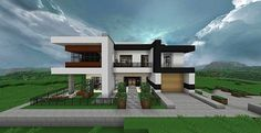 Minecraft Small Modern House Designs Modern house with style