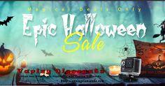 October 14, 2016Epic Halloween Vape Sale On Eleaf, HCigar, Lost Vape And Much More! - http://vapingdiscounts.com/halloween-vape-sale/ #vapingdiscounts #vape