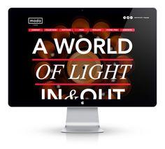 awesome web design by NEOTOKIO! 4 modoluce.com