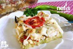 Ratatu - Nefis Yemek Tarifleri Baked Potato, Potato Salad, Mashed Potatoes, Cauliflower, Pesto, Food And Drink, Chicken, Baking, Vegetables
