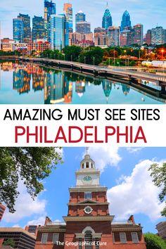 Historic Philadelphia, Philadelphia History, Philadelphia Recipes, Travel Usa, Travel Tips, Travel Guides, Eastern State Penitentiary, Independence Hall, East Coast Road Trip