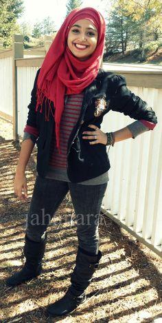 Love it, cool hijabi