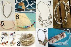 DIY Anthropoligie Jewelry Knockoffs