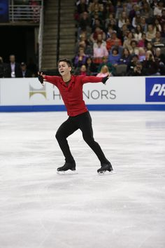 2013 U.S. champion Max Aaron.I love watching ice skating.Please check out my website thanks. www.photopix.co.nz