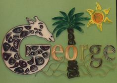 Quilling, name, George
