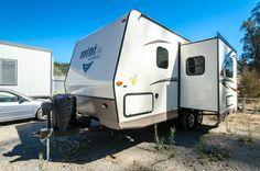 New 2017 Forest River RV Rockwood Mini Lite 2104S Travel Trailer at Trailer Hitch RV   Nipomo, CA   #6699