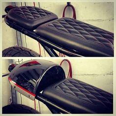 Cafe racer seat idea