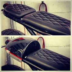 Exemplo segunod banco disfarçado Cafe racer seat idea