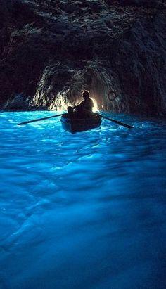 The Blue Grotto -Capri (Italia) Places Around The World, The Places Youll Go, Places To See, Around The Worlds, Capri Italia, Dream Vacations, Vacation Spots, Italy Vacation, Italy Trip