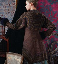 Looking for your next project? You're going to love Russian Coat [VKH07_05] by designer Vogue Knitting.