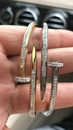 Nail bracelets Cartier zirconium very cute very dainty male or female for Sale in Chicago, IL - OfferUp Cartier Diamond Bracelet, Cartier Jewelry, Male Jewelry, Fashion Jewelry, Male Piercings, Fila Outfit, Diamond Girl, Bracelet Designs, Luxury Jewelry