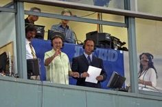 The best baseball commentators, period: Don Orsillo and Jerry Remy. Image from https://pbs.twimg.com/media/CNQqBhNWUAAwExZ.jpg.