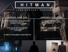 Hitman particular the contents of his June Hitman Linux PC PS4 Xbox One