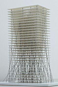 2012-2013 Milan Roher modèle immeuble - Chine Zhenghou - Christian Keretzu