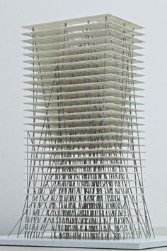 Chinese High Rise Model, (c) Milan Rohrer