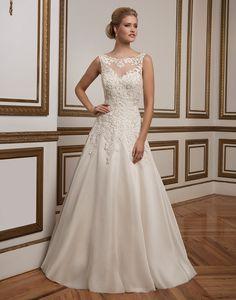 Justin Alexander wedding dresses style 8835 Lace adorns the Sabrina…