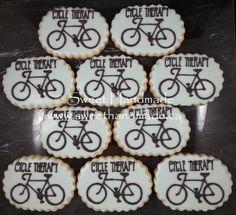 Sweet Handmade Cookies: Road Bike Cookies