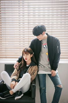 ulzzang couple ❤ couple goals, cute, korean boy and girl, kfashion, street style Korean Ulzzang, Ulzzang Boy, Ulzzang Fashion, Asian Fashion, Cute Korean, Korean Girl, Couple Ulzzang, Mode Kawaii, Korean Couple