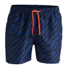 Björn Borg – Mid Shorts Desert – Blauw Zwembroeken XL