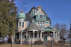 Blandinsville Illinois, McDonough County, George F. Barber