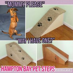 Your Pet Need Hampton Bay Pet Steps #dogramp #petramp #catramp