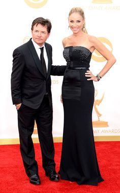 Micahel J Fox en #Armani #Emmys2013