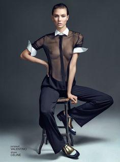 cool 032c   Editorial de Moda Verão 2013   Karlie Kloss por Sean & Seng