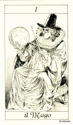 I. The Magician - Tarot of the 3 Musketeers ( I Tarocchi del re Sole) by  Paolo Piffarerio