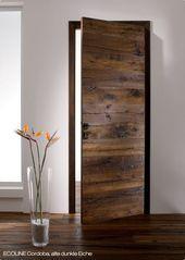 Flush Door Design, Main Door Design, Internal Sliding Doors, Table Bar, Wooden Door Design, Home Room Design, Farmhouse Remodel, Wood Doors, Wood Interior Doors
