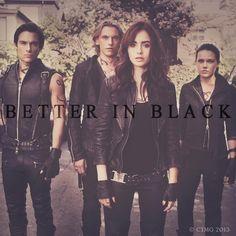Better in black. #TMIMovie