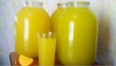 Homemade orange juice - 4 oranges = 9 l of juice NejRecept. Healthy Diet Recipes, Cooking Recipes, Homemade Orange Juice, Lemonade Cocktail, Orange Soda, Home Canning, Summer Drinks, Mojito, Hot Sauce Bottles