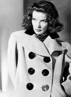 Katharine Hepburn. I believe this is a publicity shot for Bringing Up Baby (1938).